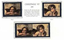 👉 MARSHALL IS. 1997 CHRISTMAS mnh PAINTING by RAPHAEL, ANGELS, RELIGION