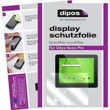 2x Odys Noon Pro Schutzfolie klar Displayschutzfolie Folie dipos Displayfolie