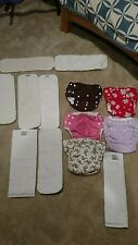 Cloth diaper lot Knicker Knappies, Dry Bees and Fuzzi Buns Pocket Diapers