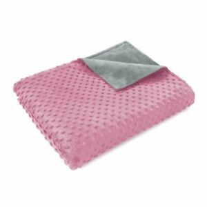 """48"""" x 72"""" Premium Weighted Sensory Blankets Heavy Blanket with Removable Cover"""