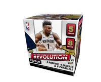 2020 - 2021 NBA PANINI REVOLUTION BASKETBALL FOTL BOXES - 5 CARDS PER HOBBY PACK