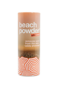 Beach Powder Shimmer - removes sand from skin adds shimmer