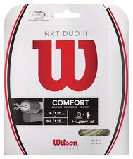 WILSON NXT DUO II Hybrid Tennis Stringa Set