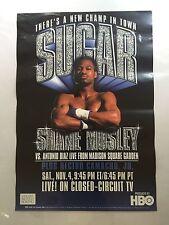 HBO Boxing Poster SUGAR SHANE MOSLEY vs. Antonio Diaz November 4, 2000