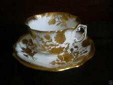 HAMMERSLEY ENGLISH CUP & SAUCER GILDED FLOWERS