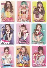 Korea Music K-POP KPOP Girls' Generation TAEYEON Jessica Tiffany Yoona card 42