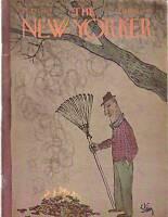 1967 New Yorker October 14 - Burning Fall Leaves- Steig
