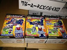 takara Tomy Kabaya Fortress Maximus Transformers DX model kit set of 3 Japan G1