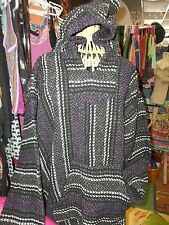 BAJA BAJAS HOODIE KANGERO POCKET Black STRIPE Multi Color TOP TOPS PULLOVER XXL