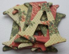 """Graphic 45 -CHRiSTMAS CHEER- December - A Place in Time - Chipboard Letters 1.5"""""""