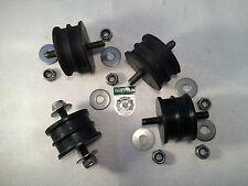 Land Rover Serie 2, 2a y 3 2,25 Motor De Gasolina X2 & Gearbox X2 Soportes Y Tuercas