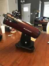 Orion SkyScanner 100mm Tabletop Reflector Telescope 10012 With Orion Moon Filter