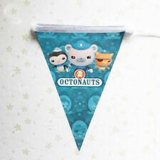 OCTONAUTS BANNER BUNTING FLAG PENNANT BIRTHDAY PARTY DECORATION LOLLY LOOT BAG