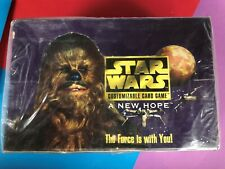 Star Wars  ==> A New Hope <== Sealed Limited Booster Box X1