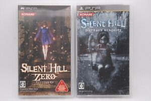 Psp Silent Hill Zero & Shattered Memories 2pcs Japan Import PLAYSTATION Portable