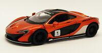 McLaren P1 - Copper - Kinsmart Pull Back & Go Metal Model Car