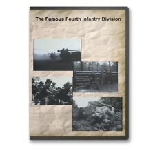 The Famous Fourth Infantry Division Big Picture Army Documentary DVD - A791