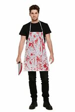 Bloody Apron Blood Splatter Halloween Horror Nurse Surgeon Fancy Dress Costume