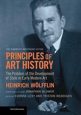 PRINCIPLES OF ART HISTORY - WOLFFLIN, HEINRICH/ BLOWER, JONATHAN (TRN)/ LEVY, EV