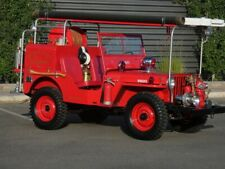 New listing  1947 Willys Cj-2A Inside Plant Fire Truck