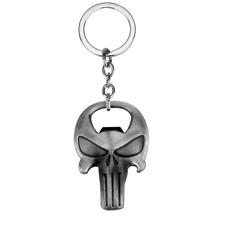 The Punisher Skull Beer Bottle Opener Movie Around The Jewelry Keychain