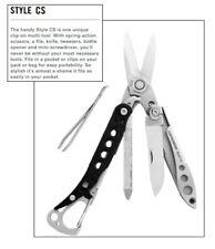 Leatherman Style CS 100% GENUINE Keychain Multitool EX COND + FREE POSTAGE