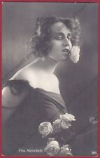 PINA MENICHELLI 20 ATTRICE ACTRESS CINEMA MUTO SILENT MOVIE - CASTROREALE