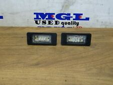 BMW X1 E84 NUMBER PLATE LIGHT LED PAIR 7193293 2009-2015