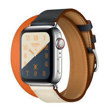 Apple Watch Series 4 Hermes 40mm Indigo/Craie/Orange Double Tour, NEW, IN HAND