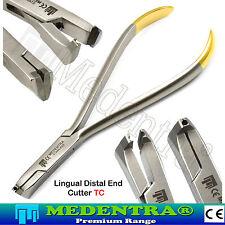 Ortho Premium lingual extremo distal Cortador De Alambre Para Alambre dental Aparatos de Pin en tubos bucales CE