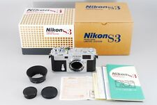 [Almost unused in BOX] Nikon S3 Year 2000 Limited Edition Rangefinder From JAPAN