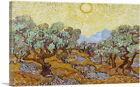 ARTCANVAS Olive Trees 1889 Canvas Art Print by Vincent Van Gogh