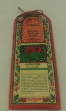 """Zodiac Natural Incense 30 Sticks From R-Expo India """"Capricorn"""" Dec 22nd-Jan 20th"""
