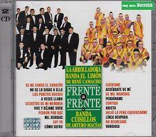 Banda La Arrolladora Banda El Limon de Rene Camacho & Banda Cuisillos CD+DVD NEW