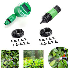 Garden Patio Misting Cooling System 20 Plastic Mist Nozzle + Electric Controller