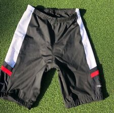 Hannulink Men's Xl Tri Shorts Black Padded Swim Bike Run Triathlon