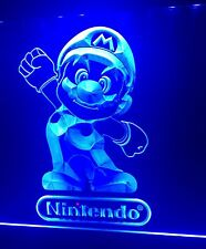 NEW NINTENDO LED Sign for Game Room,Office,Bar, MARIO BROS. US SELLER!