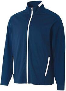 A4 Men's Long Sleeve Full Zip Jacket & Fleece Zippered Leg Pant SET SIZES:S - XL