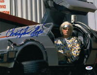 CHRISTOPHER LLOYD SIGNED 11X14 PHOTO BACK TO THE FUTURE DOC BROWN AUTO PSA/DNA J