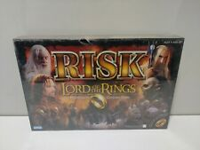 LORD OF THE RINGS - RISK- Middle Earth Conquest Board Game 2002 - FACTORY SEALED