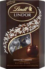 Lindt Lindor Truffles Extra Dark Chocolate - 60% Cocoa (4x200g)