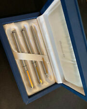 Pelikan Signum 3-Pen set. Ca 1983 Fountain Pen, Roller Ball, Ballpoint.