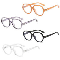 Retro Metal Frame Double Beam Blue Light Blocking Glasses Men Women Eyeglasses