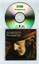 CD SINGLE PROMO SAMPLER ZUCCHERO WONDERFUL LIFE