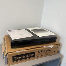 Technics ST-610L Quartz Stereo Home Audio Hifi Tuner
