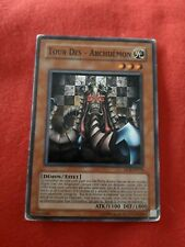 Tour of - Archfiend DCR-FR70 Card Yu-Gi-Oh! Fr Rare