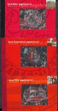 3 PRESTIGE BOEKJES AJAX, FEYENOORD EN P.S.V.    Ad980