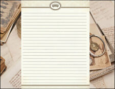 Classic Inspired Design Lined Stationery Set 25 sheets & 10 envelopes 8.5 X 11