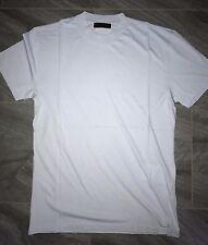 Authentic Mens Prada Classic Light Blue Round Neck Cotton Jersey T-Shirt Size M