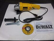 "DeWalt Heavy-Duty 5"" Medium Angle Grinder,10,000 No-Load rpm, 120v"
